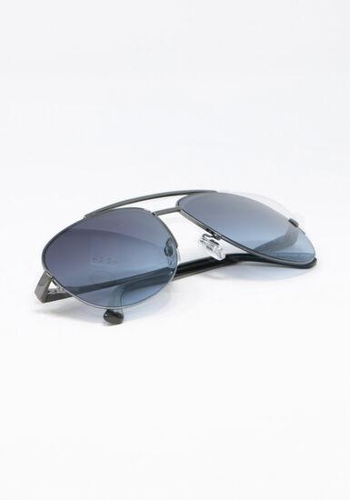 Men's Aviator Sunglasses, GUN METAL, hi-res