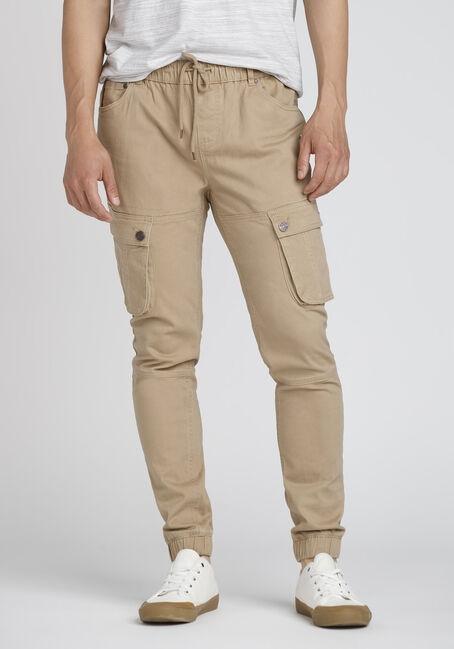 Men's Stretch Twill Cargo Jogger