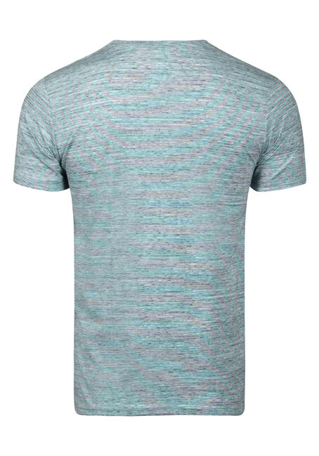 Men's Everyday Mini Stripe Tee, MINT, hi-res