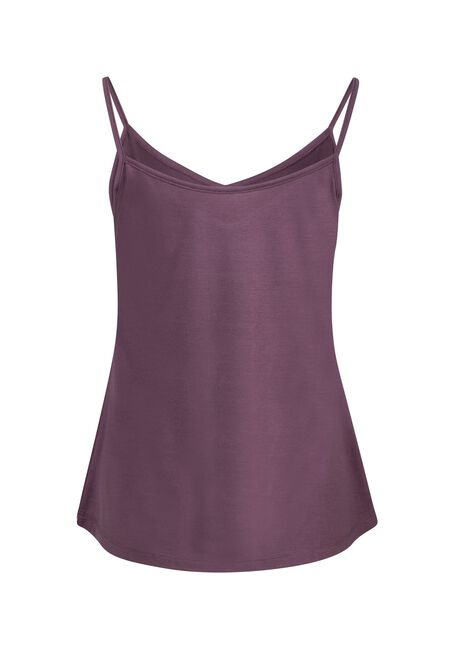 Women's Reversible Relaxed Strappy Tank, ORCHID, hi-res