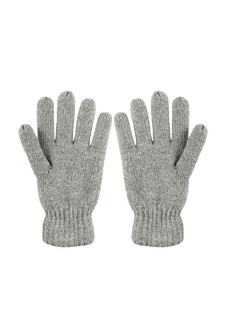 Men's Knit Gloves, LIGHT GREEN, hi-res