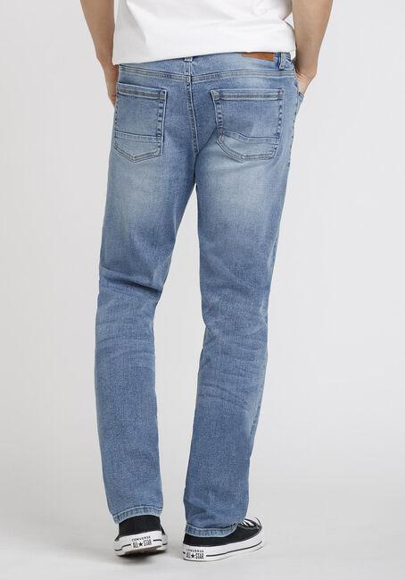 Men's Light Wash Slim Fit Jeans, LIGHT WASH, hi-res