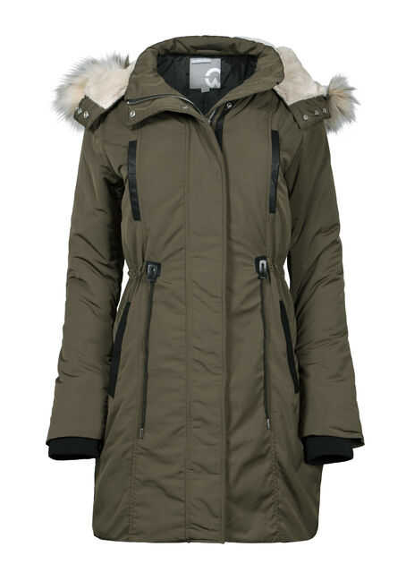 Women's Fur Trim Anorak