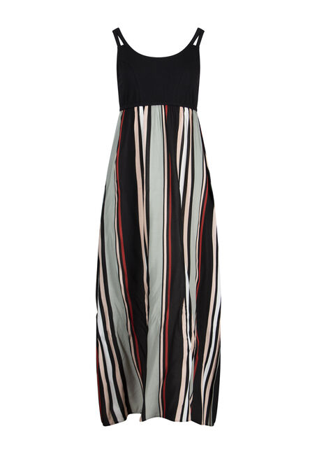 Women's Stripe Maxi Dress