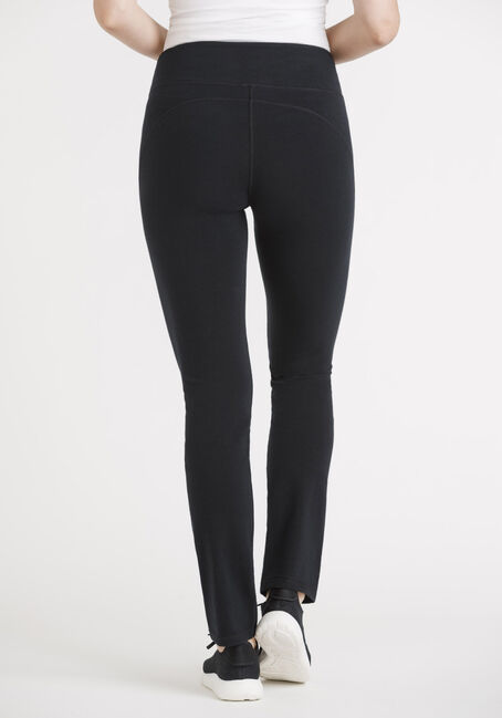 Women's Basic Yoga Pant, BLACK, hi-res