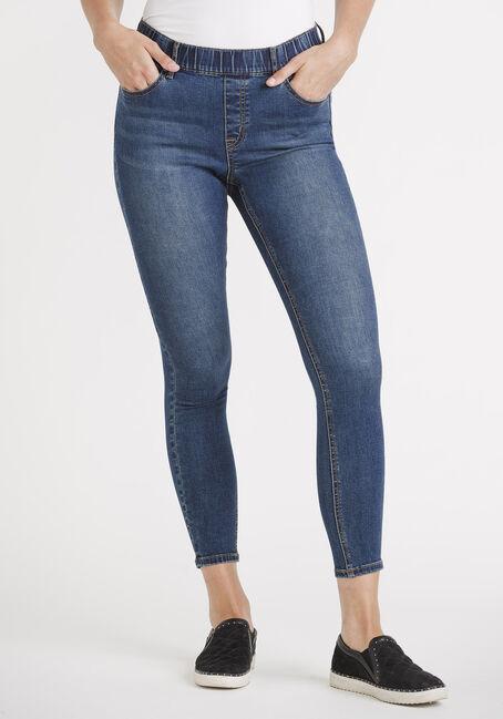 "Women's Pull-on Skinny Jeans 29"""