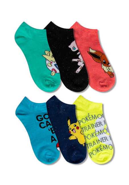 Ladies' 5 Pair Pokemon Socks