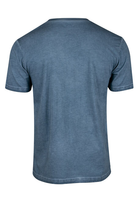Men's Washed Tiger Tee, TWILIGHT, hi-res
