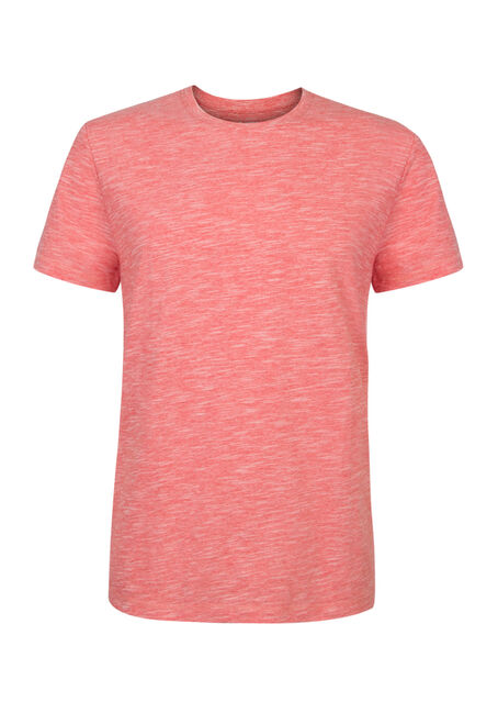 Men's Textured Crew Neck Tee