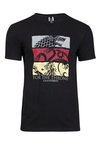 Men's Game of Thrones Graphic Tee, BLACK, hi-res