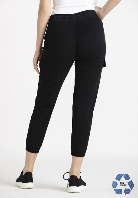 Women's Cargo Jogger, BLACK, hi-res