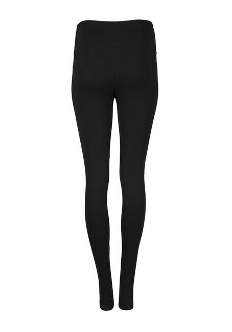 Women's High Waist Legging, BLACK, hi-res