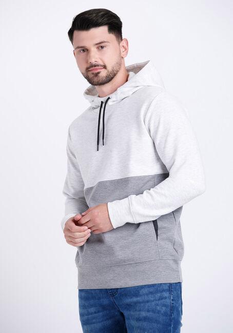 Men's Colour Block Hoodie