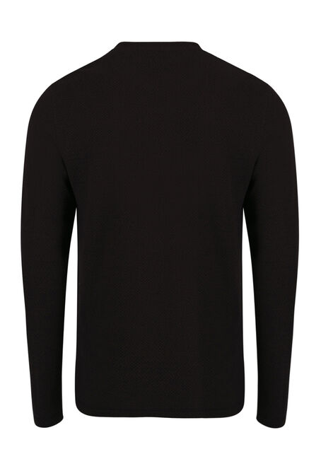Men's Crew Neck Sweater, FIG, hi-res