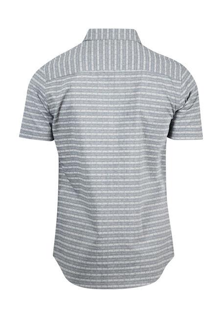 Men's Tonal Striped Shirt, BLUE, hi-res