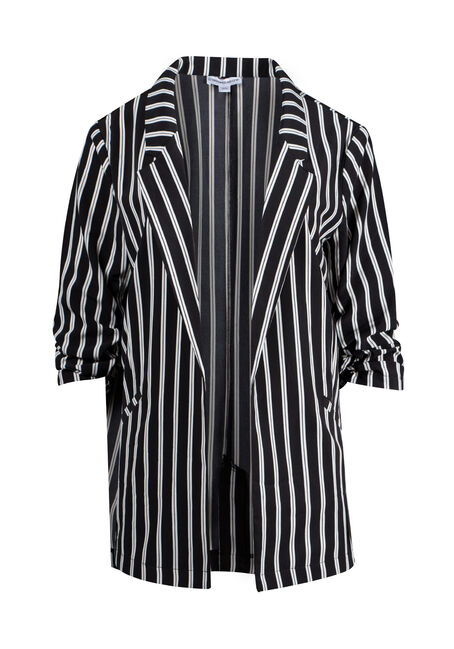 Women's Striped Blazer
