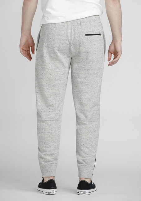 Men's Speckle Athletic Jogger, HEATHER GREY, hi-res