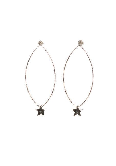 Ladies' Delicate Oval Earring