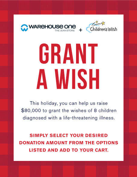 Donate to Children's Wish