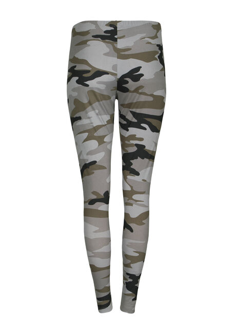 Women's Camo Legging, OLIVE, hi-res