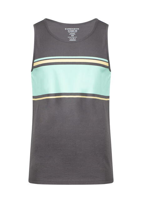 Men's Everyday Striped Tank