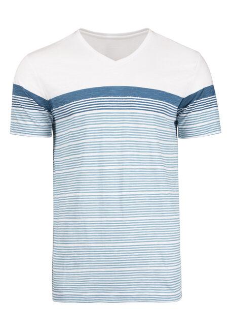 Men's Everyday Colour Block Stripe Tee