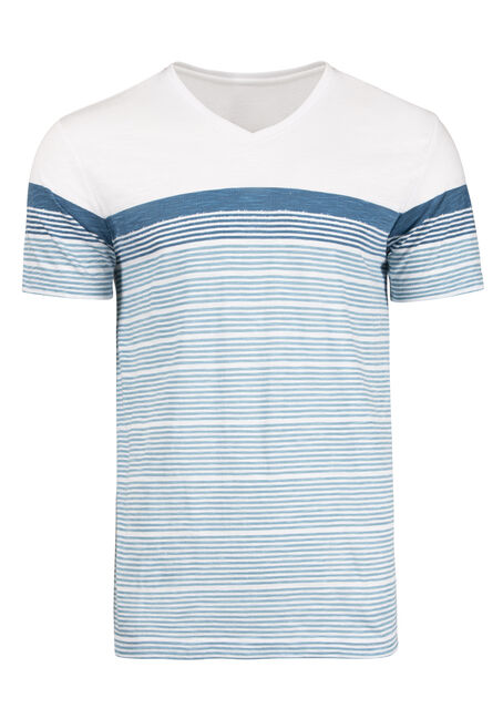 Men's Everyday Colour Block Stripe Tee
