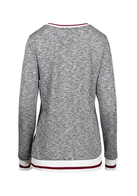 Women's Too Cold Cabin Fleece, HEATHER GREY, hi-res
