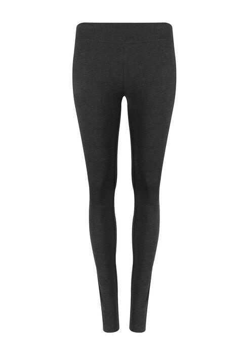 Women's Wide Waistband Legging, CHARCOAL, hi-res