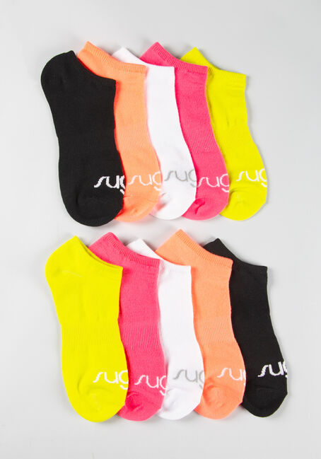 Women's 10 Pair Sugar Socks