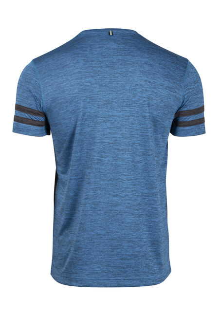 Men's Athletic Tee, ROYAL (FRENCH BLUE), hi-res
