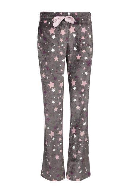 Ladies' Star Plush Sleep Pant