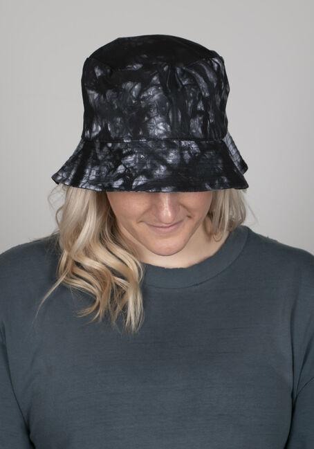 Tie Dye Bucket Hat, BLACK, hi-res