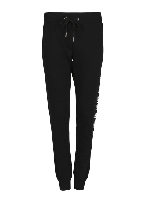 Women's Love Jogger, BLACK, hi-res