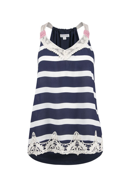 Ladies' Stripe Tank
