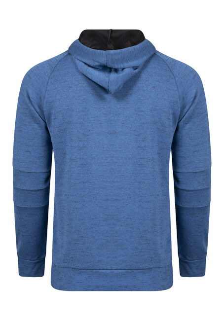Men's Pop Over Hoodie, BRIGHT COBALT, hi-res