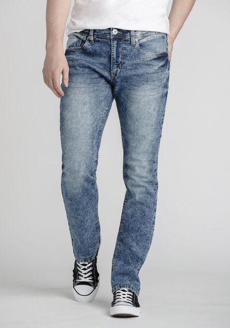 Men's Acid Wash Slim Jeans
