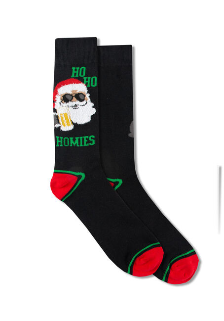 Men's Ho Ho Homies Crew Socks