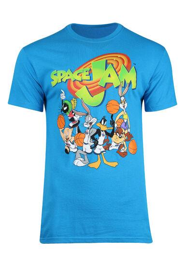 Men's Space Jam Tee, TURQUOISE, hi-res