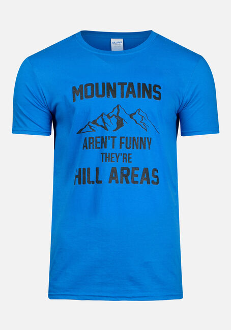 Men's Mountains Aren't Funny Tee