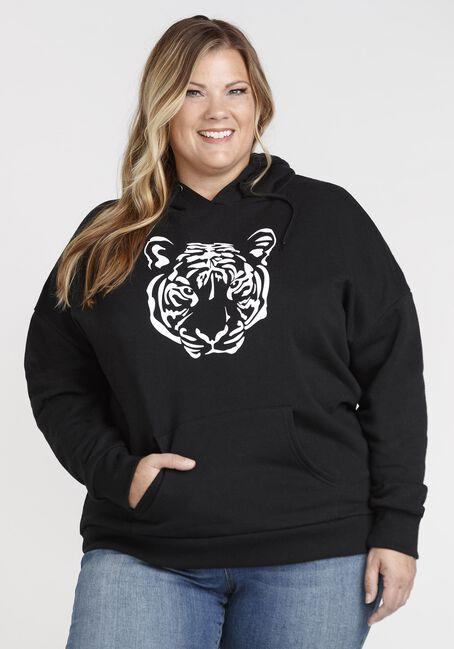 Women's Tiger Pop Over Hoodie