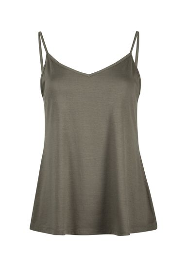 Women's Reversible Relaxed Strappy Tank, MOSS, hi-res