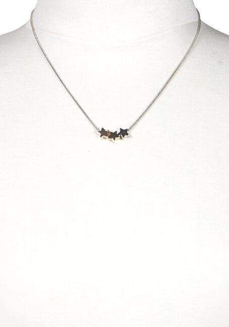 Women's Mini Stars Necklace, MIXED METALS, hi-res