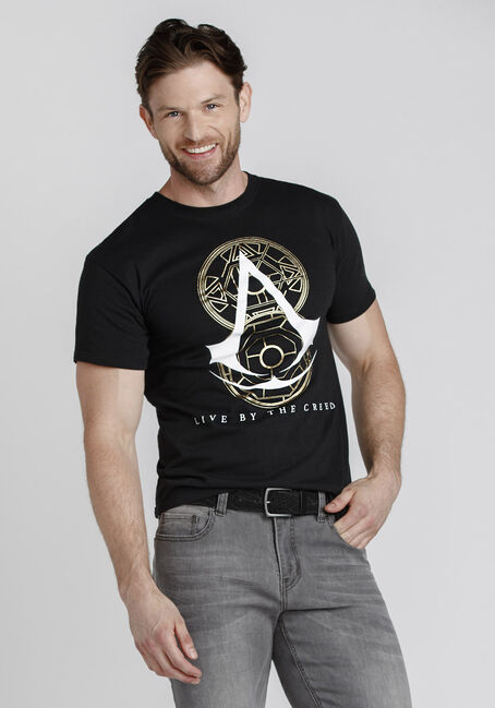 Men's Assassin's Creed Tee, BLACK, hi-res