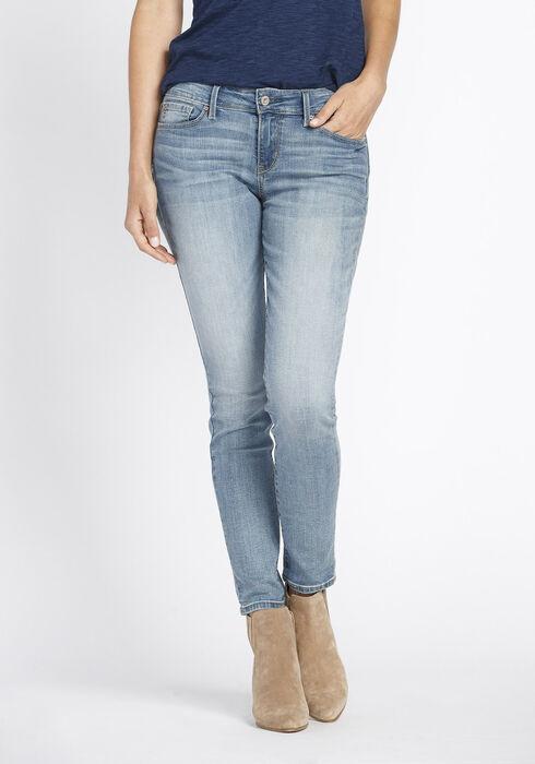 Ladies' Skinny Jeans, LIGHT WASH, hi-res