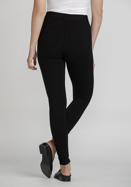 Women's Pull On Skinny Pant, BLACK, hi-res