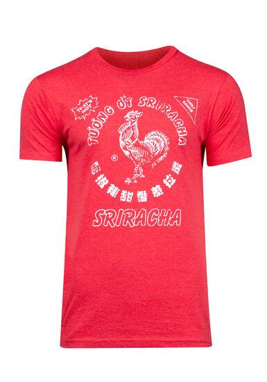 Men's Sriracha Tee, HEATHER RED, hi-res