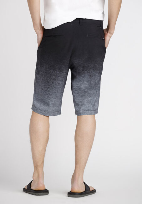 Men's Ombre Hybrid Short, BLACK, hi-res