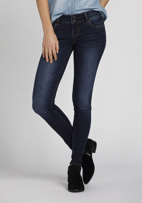 Women's Ink Wash High Rise Skinny Jeans