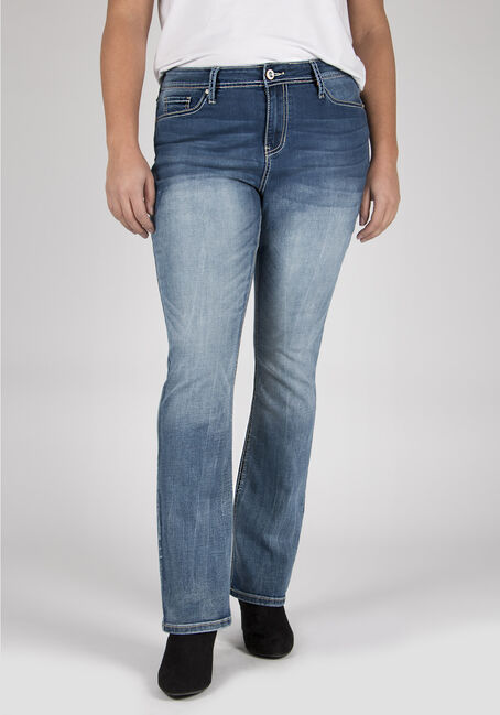 Ladies' Plus Size Boot Cut Jeans